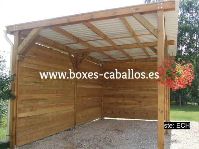 Cobertizos de madera segunda mano great vigas tablas de for Casetas madera segunda mano para jardin